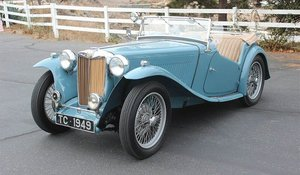 1949 MG T-Series Roadster Convertible RHD Retored $39.9k
