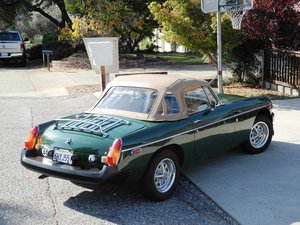 1974 Low mile, Califonia rust-free MGB For Sale