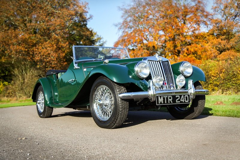 1954 MG TF good condition ready to go For Sale (picture 1 of 5)