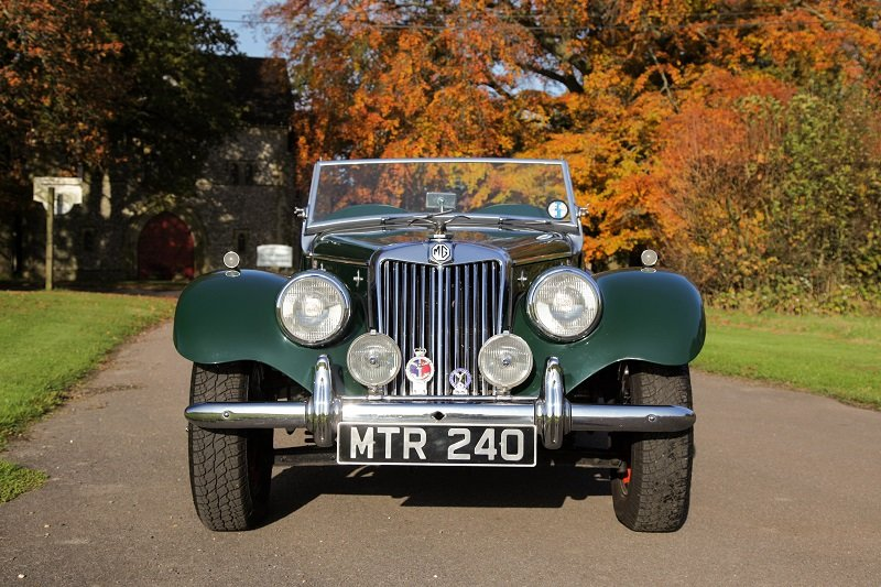1954 MG TF good condition ready to go For Sale (picture 3 of 5)