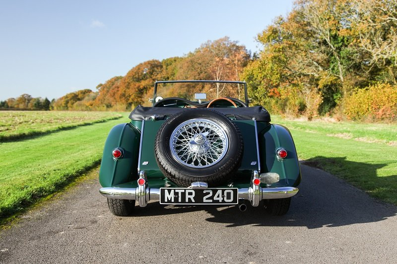 1954 MG TF good condition ready to go For Sale (picture 4 of 5)