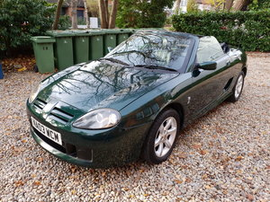 2003 MG TF135. 57200 MILES FSH NEW BRAKES & HEAD GASKET  SOLD