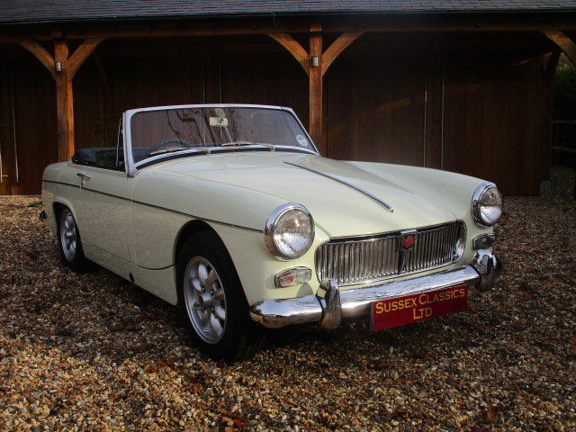 1967 MG Midget 1275 Mk3 (Card Payments Accepted) SOLD (picture 1 of 6)