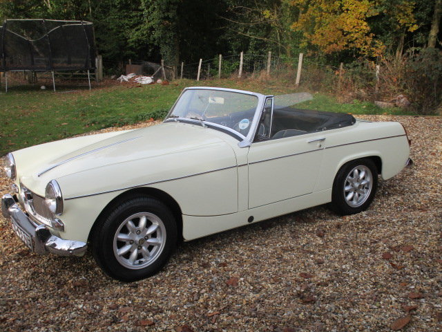 1967 MG Midget 1275 Mk3 (Card Payments Accepted) SOLD (picture 3 of 6)