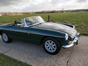 1973 MG B  V8 roadster  LHD For Sale