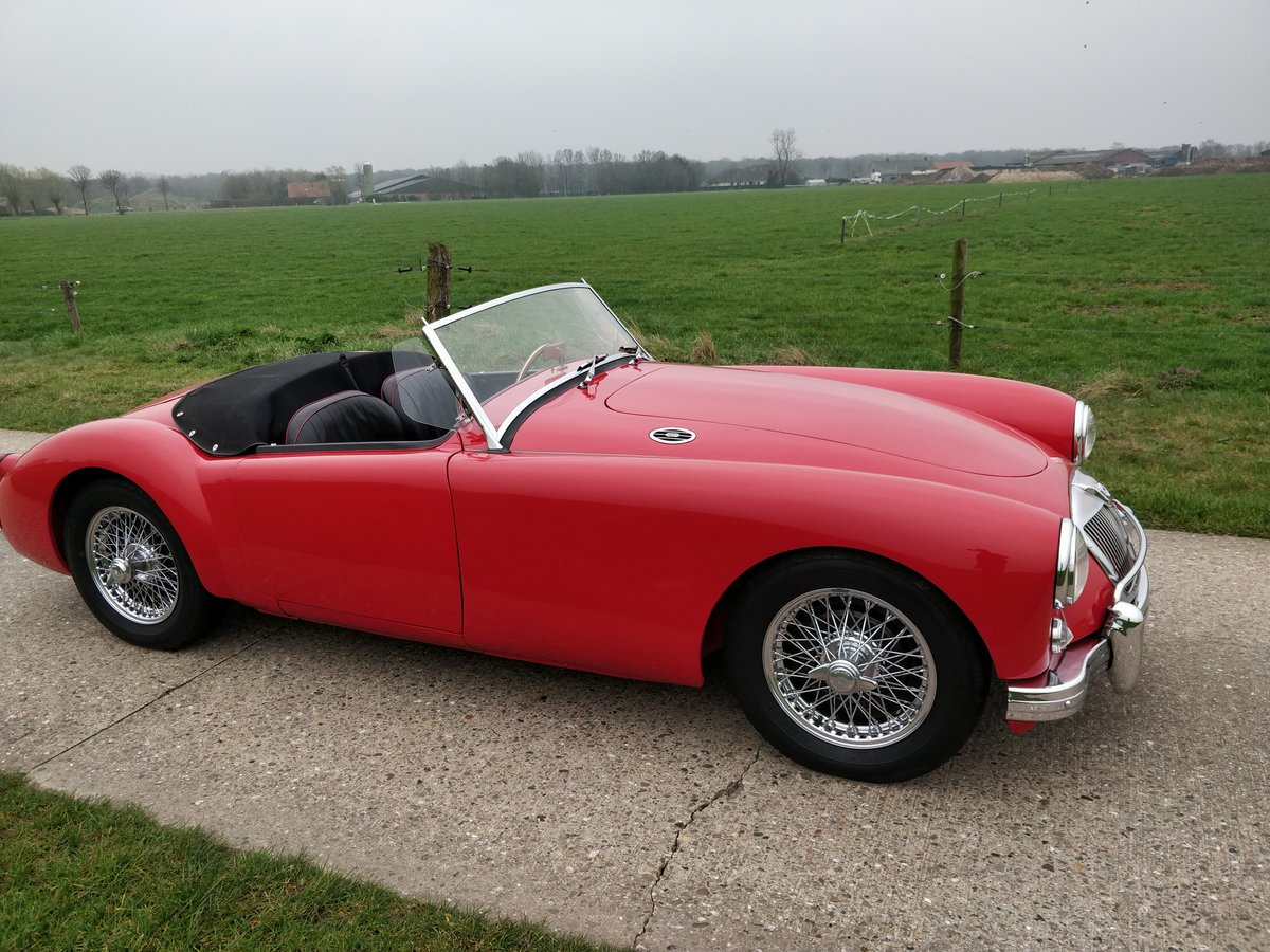1957 MG A roadster'57   LHD For Sale (picture 1 of 6)
