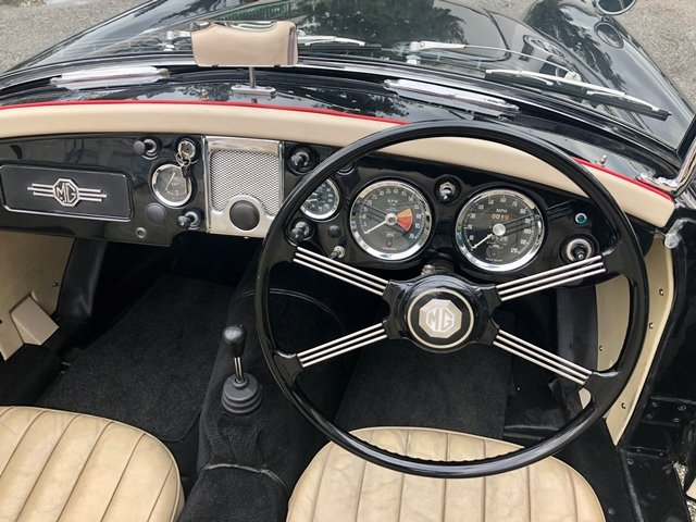 1957 MG - A 1500 SPIDER MKI RHD For Sale (picture 4 of 6)