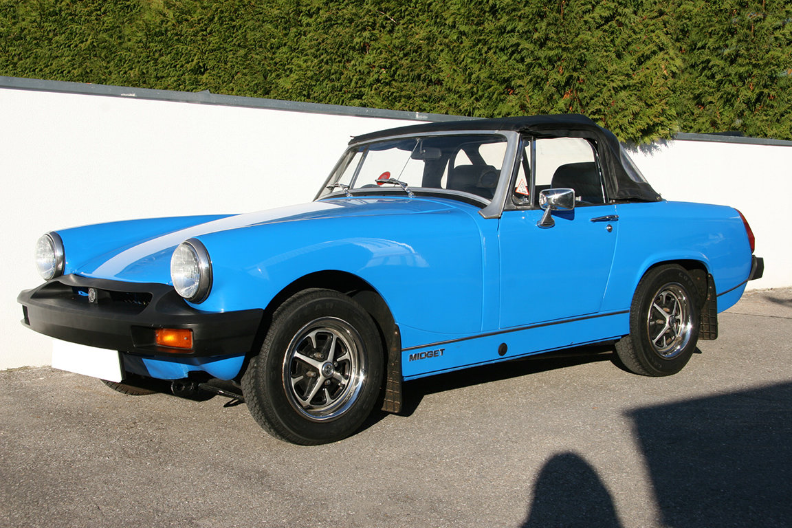 1978 MG Midget 1500-RHD-UK documents present SOLD (picture 1 of 6)
