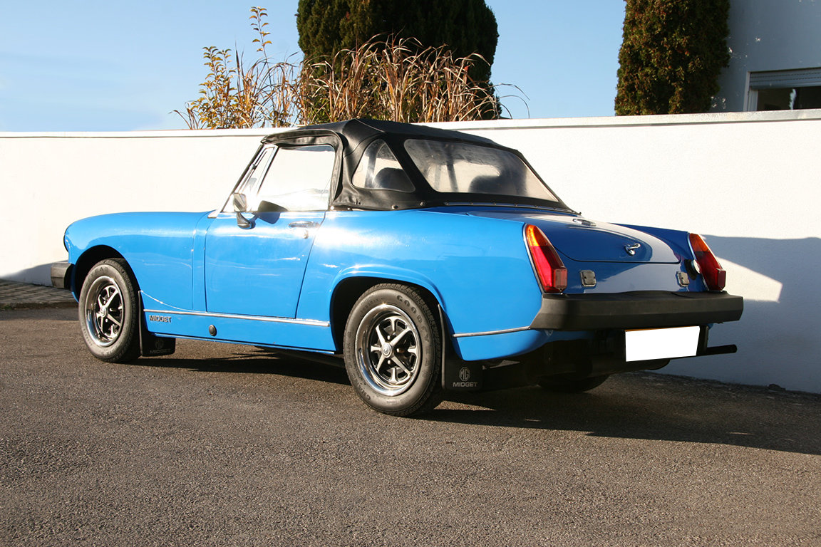 1978 MG Midget 1500-RHD-UK documents present SOLD (picture 3 of 6)