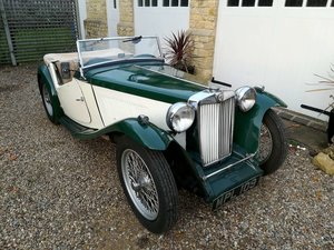 MG TC 1949 UK Numbers Matching Survivor SOLD