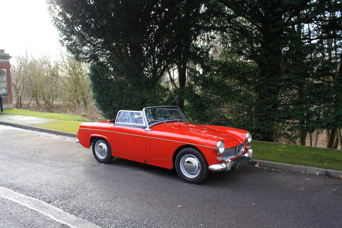 MG Midget Mk1, 1963. Rare example with sliding windows. For Sale (picture 1 of 6)