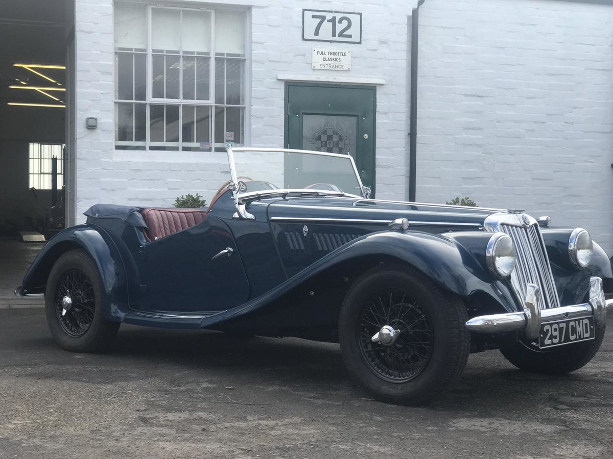 1954 MG TF 1250 immaculate condition For Sale (picture 1 of 10)