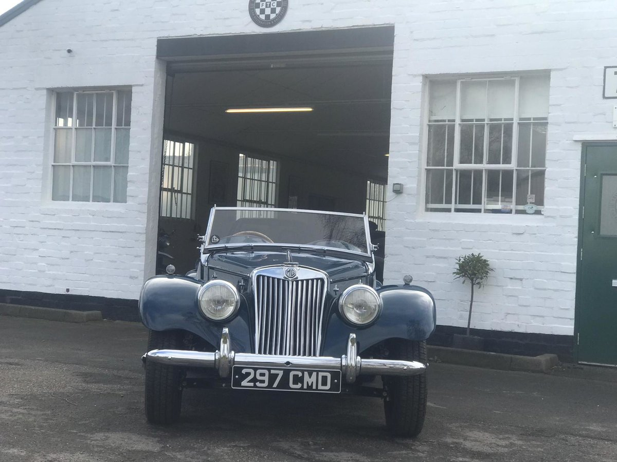 1954 MG TF 1250 immaculate condition For Sale (picture 3 of 10)