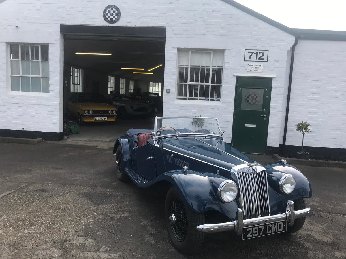 1954 MG TF 1250 immaculate condition For Sale (picture 4 of 10)