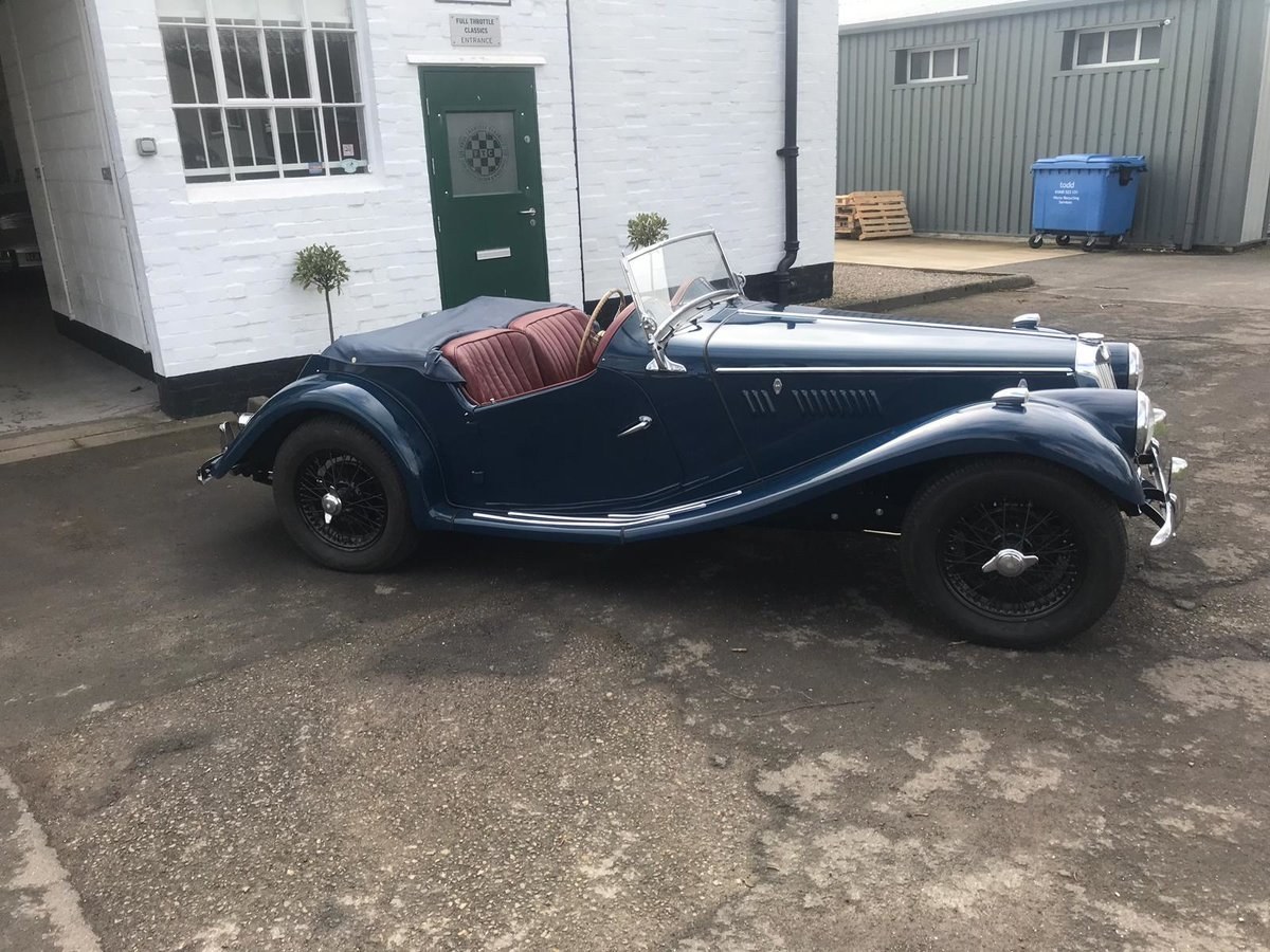 1954 MG TF 1250 immaculate condition For Sale (picture 5 of 10)