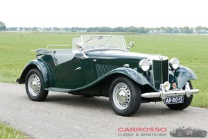 1953 MG TD Roadster in very good condition For Sale