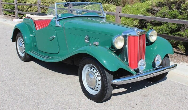1952 MG T-Series TD Roadster Convertible LHD Green $15.9k For Sale (picture 1 of 6)