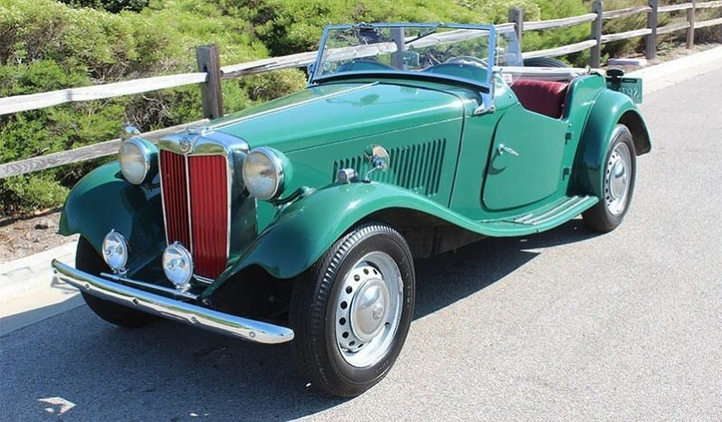 1952 MG T-Series TD Roadster Convertible LHD Green $15.9k For Sale (picture 2 of 6)