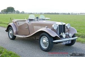 1951 MG TD Roadster in beautiful patina condition For Sale
