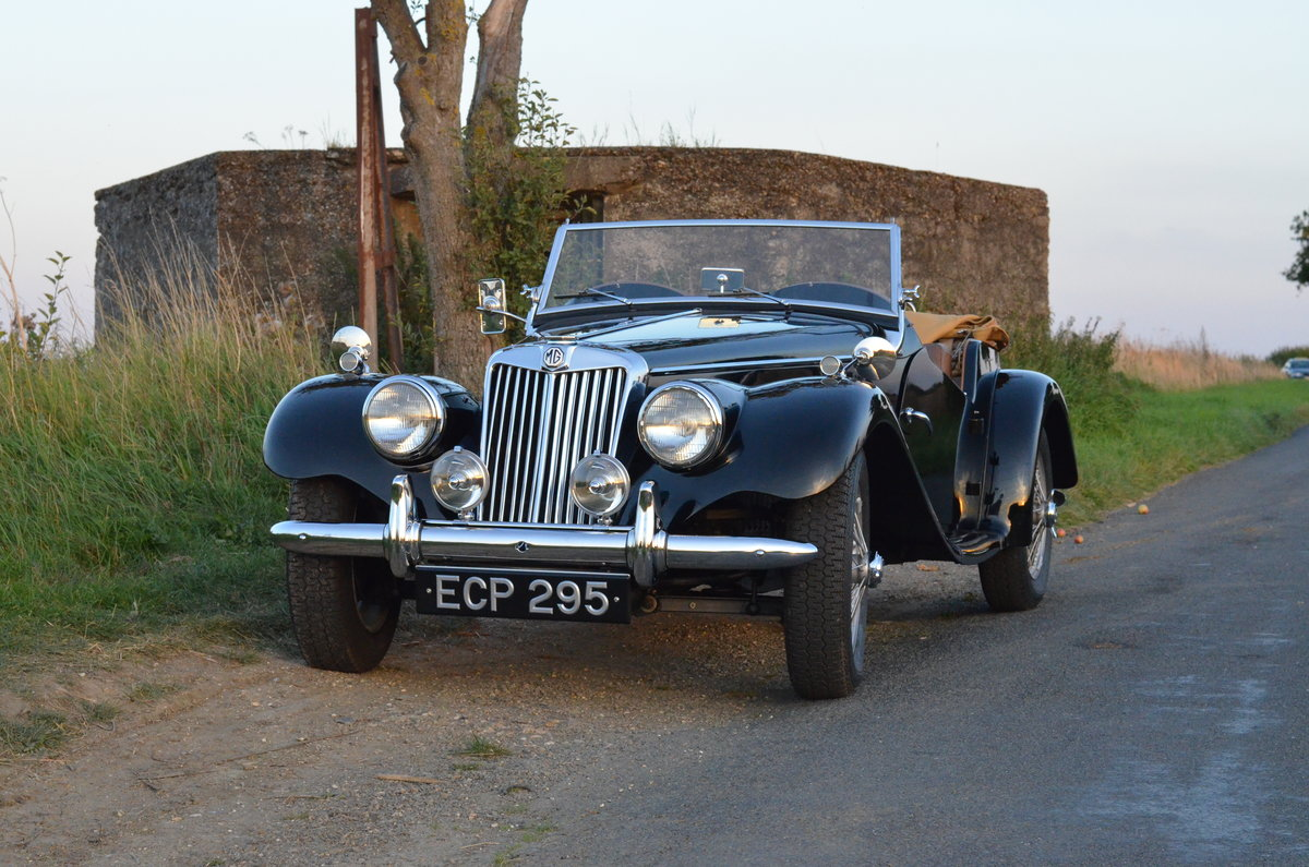 1954 MG TF SOLD (picture 1 of 4)