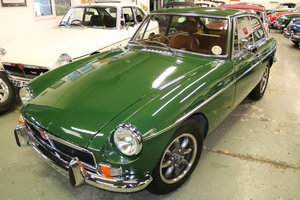 1978 MGB GT in Brooklands green, Totally rebuilt For Sale