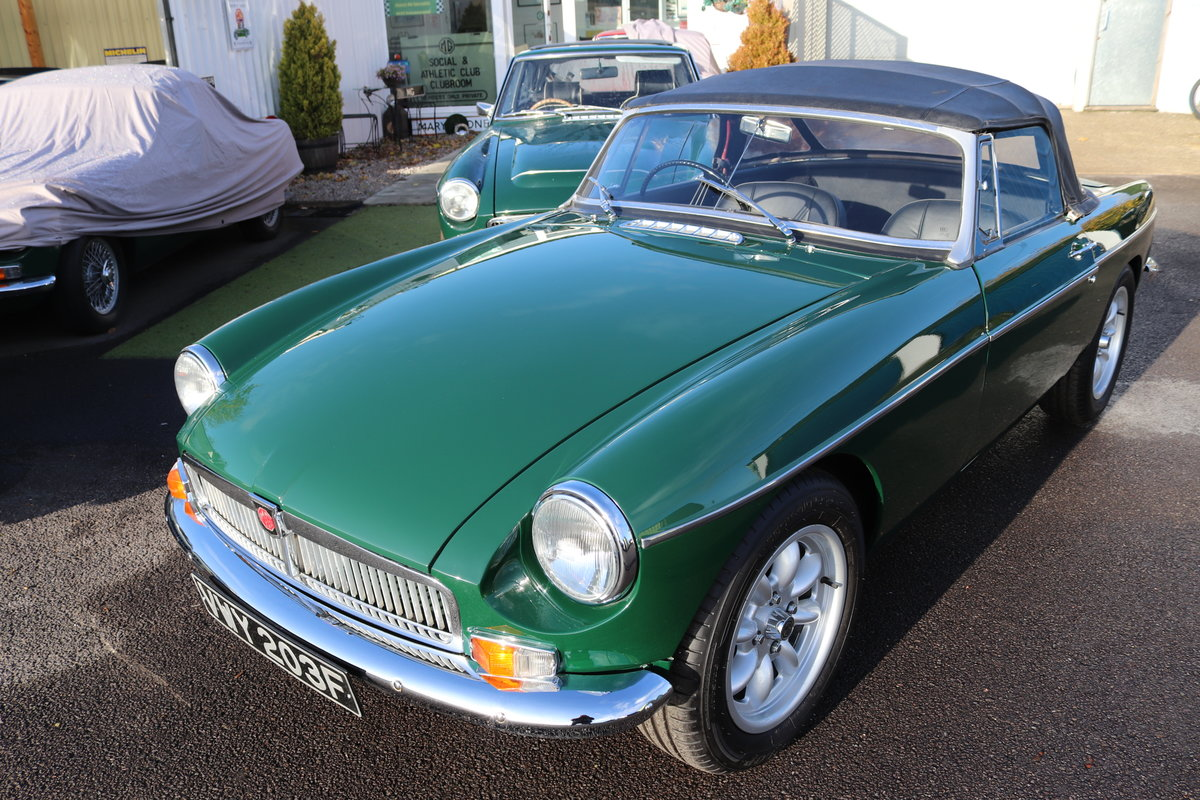 1967 MGB V8 ROADSTER,HERITAGE SHELL For Sale (picture 1 of 5)