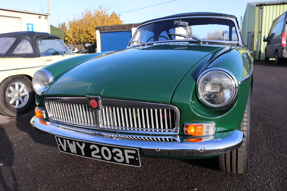 1967 MGB V8 ROADSTER,HERITAGE SHELL For Sale (picture 5 of 5)
