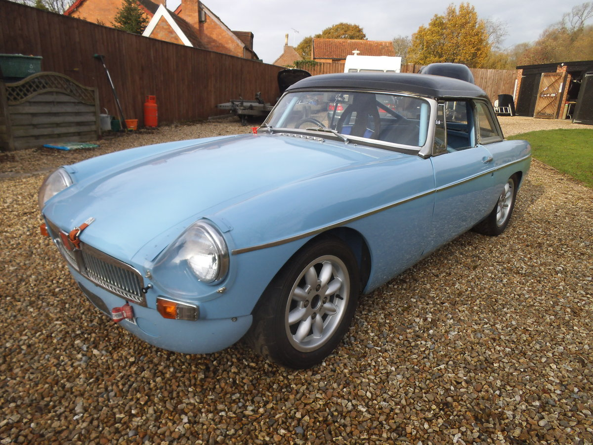 1963 MGB FIA RACE CAR For Sale (picture 1 of 6)