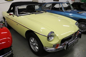 1974 MGB V8 ROADSTER,HERITAGE SHELL, Factory V8 spec.