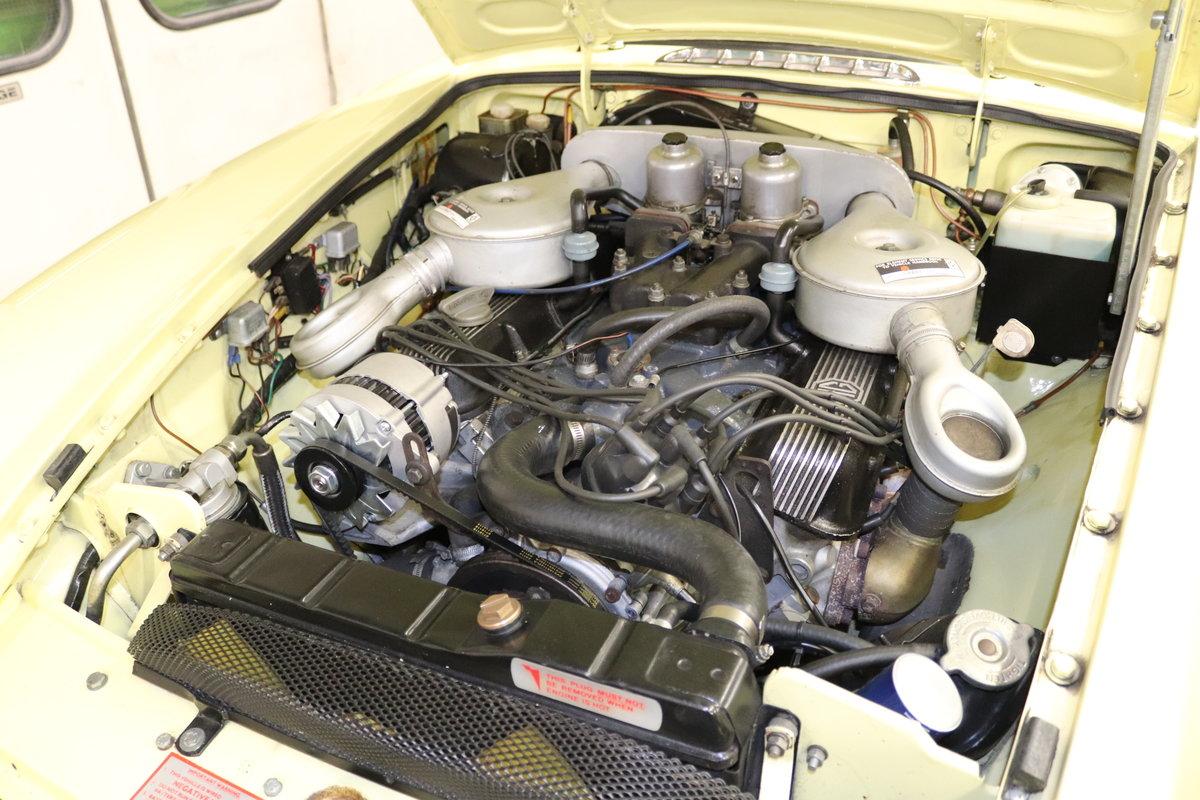 1974 MGB V8 ROADSTER,HERITAGE SHELL, Factory V8 spec. SOLD (picture 3 of 6)