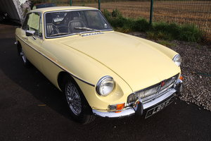 Picture of 1967 MGB GT MK1 in Primrose, fully rebuilt, LBO 1F. SOLD