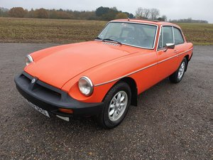 1978 MG B GT - Last Owner since 2005 - Thousands Invested -  SOLD
