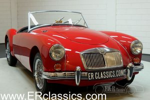 MGA 1600 Cabriolet 1959 Body off restored