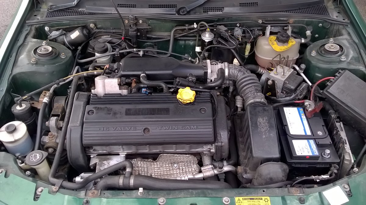 2002 MG ZR 160 VVC STANDARD SPEC  LE MANS GREEN For Sale (picture 4 of 6)