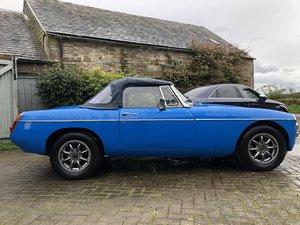 1978 MGB Roadster - Rust free, Oselli engine