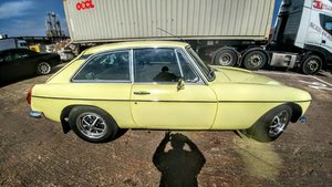 1976 MGB GT Rare one year only color Chartreuse