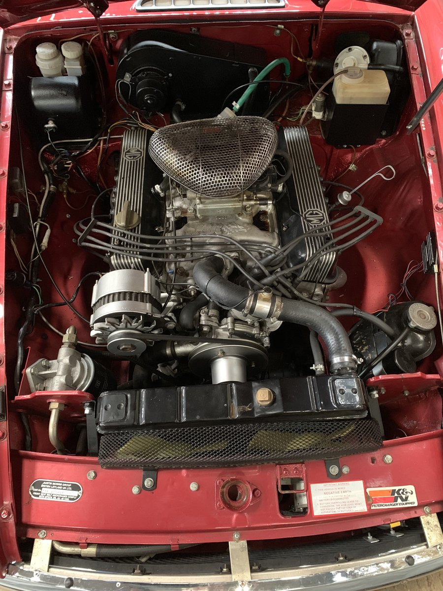 1966 MG BGT CONVERTIBLE V8 For Sale (picture 3 of 3)
