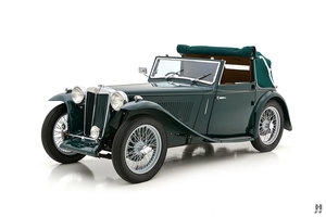 1939 MG TB TICKFORD DROPHEAD COUPE