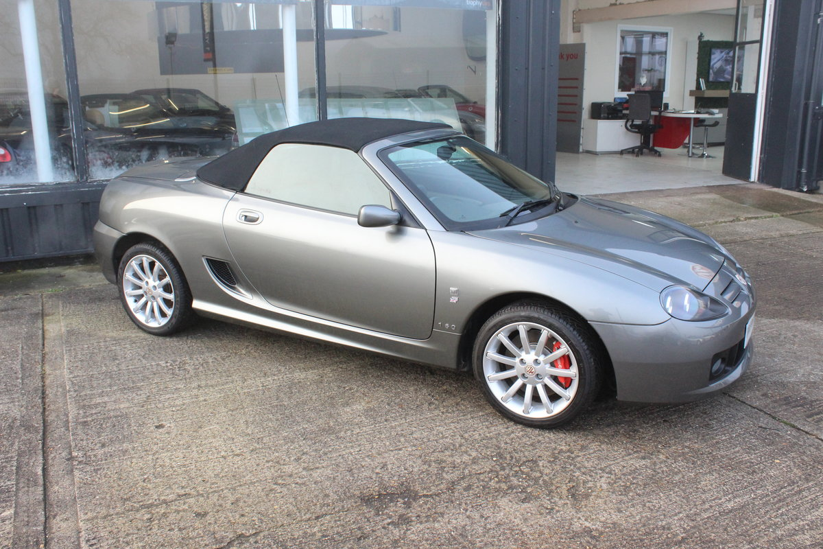 2005 MG TF 160,ONLY 820 MILES ON THE CLOCK!COLLECTORS CAR! For Sale (picture 4 of 6)