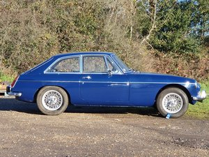 MG B GT, 1967, Mineral Blue For Sale