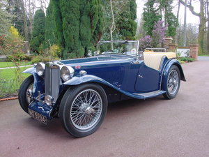 1937 MG TA - Excellent restored example For Sale