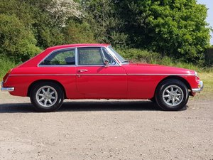 MG B GT, 1972, Rosso Red For Sale