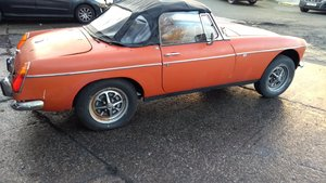 1973 MGB roadster with heritage bodyshell