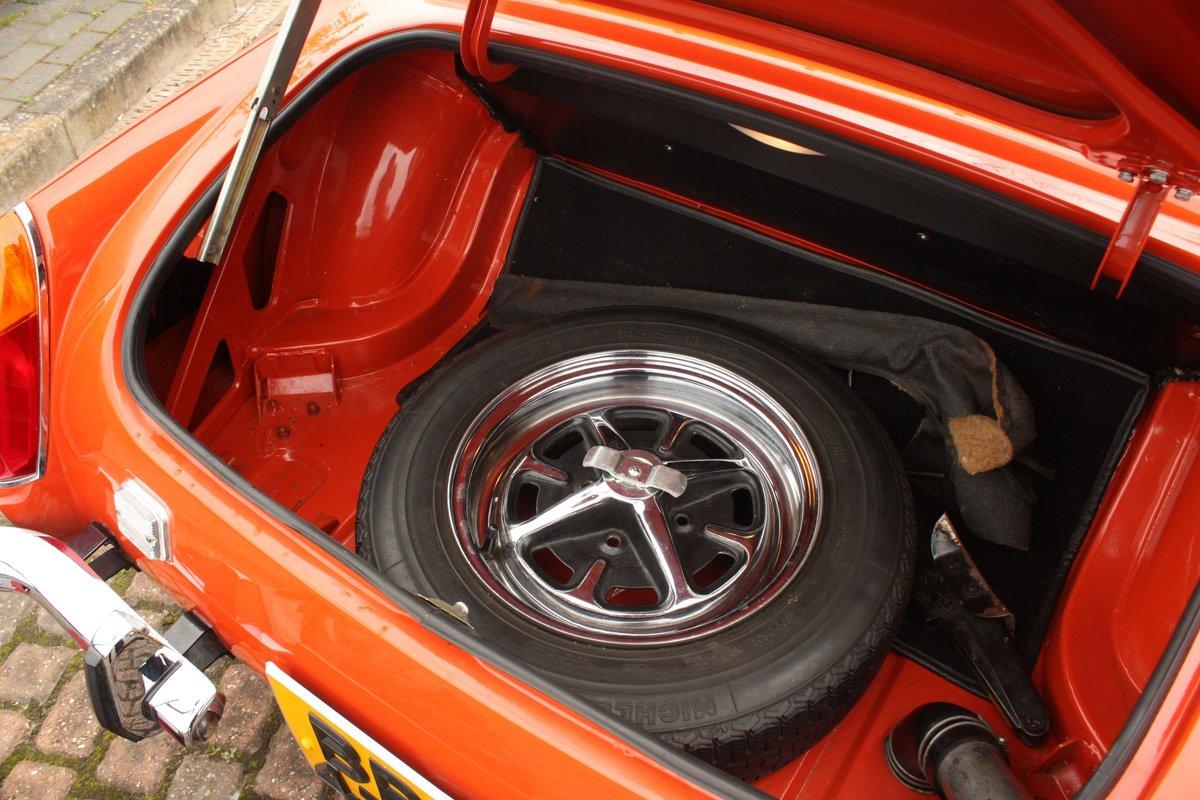 1973 MG Midget RWA MkIV - Heritage Bodyshell Restoration - Blaze SOLD (picture 6 of 6)
