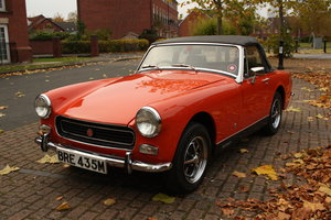 1973 MG Midget RWA MkIV - Heritage Bodyshell Restoration - Blaze For Sale