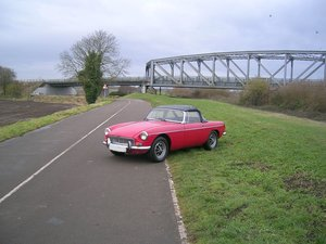 1971 MGB Roadster Chrome Bumper For Sale