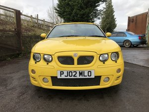 2002 MG ZT 190 V6 Trophy Yellow  - Fully Restored