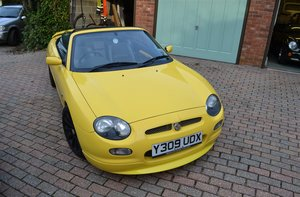 2001 MG F Trophy 160 For Sale by Auction