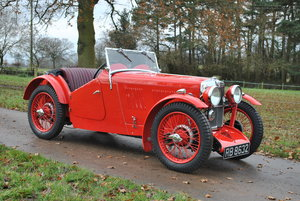 1933 MG J2, LAST OWNER 37 YEARS For Sale