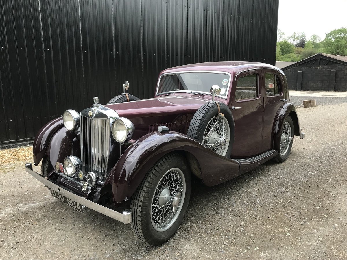 1936 MG VA Saloon - Significant History- Olympia Motor  For Sale (picture 1 of 18)